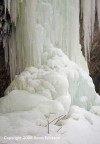 Waterfall-ice-column